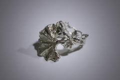 anillo doble Ginkgo